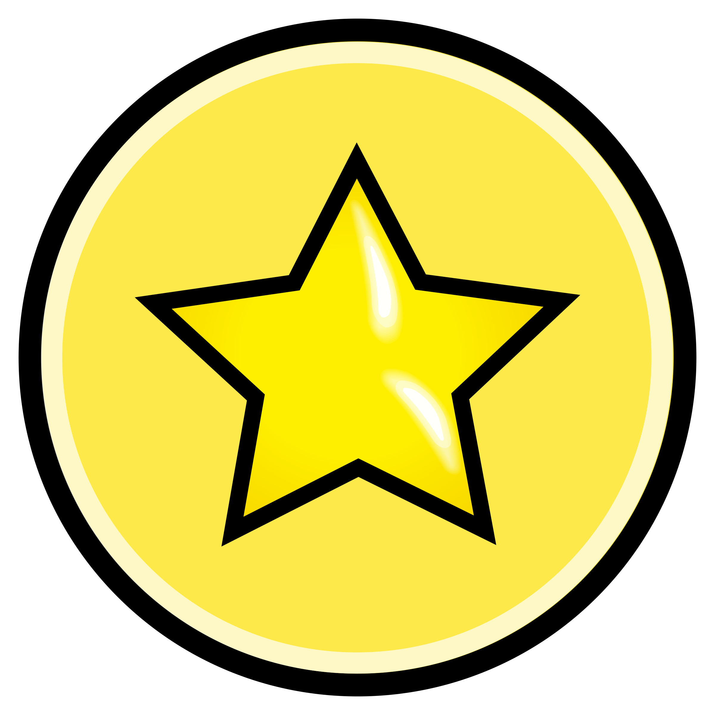button-with-yellow-star-vector-clipart